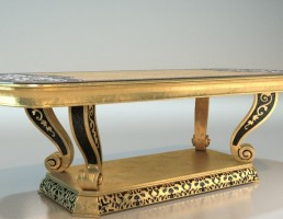 میز عسلی کلاسیک