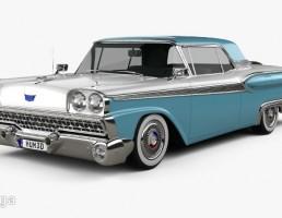 ماشین فورد فیرلین سال 1959