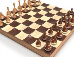 مدل سه بعدی شطرنج