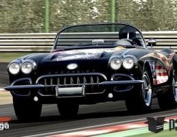 ماشین شورلت مدل Corvette C1 سال 1960