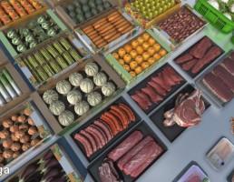 محصولا فروشگاه مواد غذایی