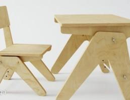 ست میز تحریر + صندلی مدرن