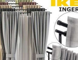 مدل پرده از شرکت IKEA