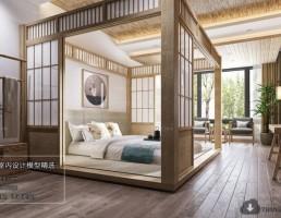 اتاق خواب ژاپنی