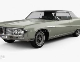 ماشین بیوک مدل Coupe سال 1969