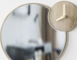 آینه + ساعت