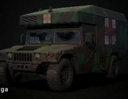 آمبولانس Humvee