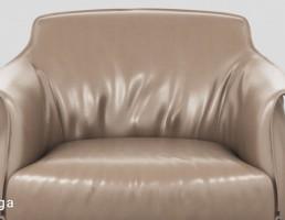 صندلی راحتی چرمی