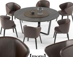مدل میز Mudi وصندلی گرد