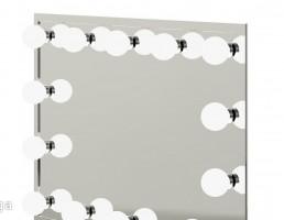 آینه مستطیلی با لامپ نورپردازی