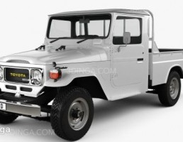 تویوتا لندکروز مدل Pickup  سال 1979