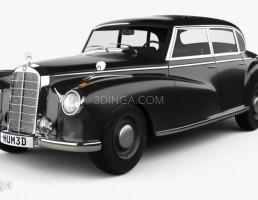 لیموزین مرسدس بنز مدل W186 سال 1951