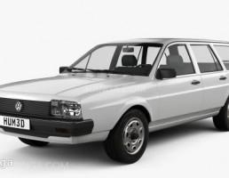 ماشین فلوکس واگن ملد Passat B2 سال 1980