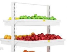ویترین فروشگاه میوه