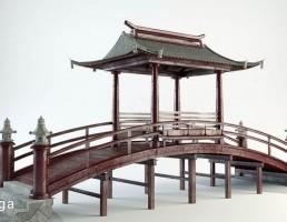 پل چوبی ژاپنی
