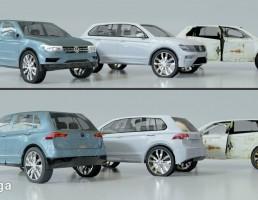 ماشین فلوکس واگن مدل Tiguan