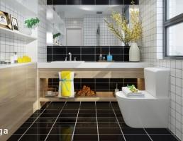 فضای داخلی توالت