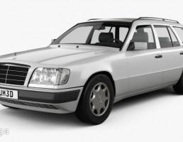 ماشین مرسدس بنز مدل Wagon سال 1993