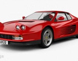 ماشین فراری مدل Testarossaسال 1986