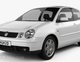 ماشین فلوکس واکن مدل Polo سه درب سال 2001