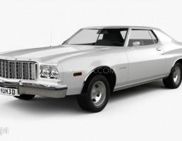 ماشین فورد مدل Gran Torino سال 1974