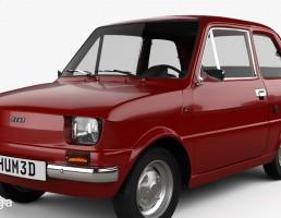 ماشین فیات مدل 126 سال 1976
