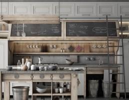 ست آشپزخانه چوبی Nolita