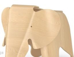 میز چوبی به شکل فیل
