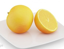 بشقاب + پرتقال