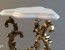میز مثلثی کلاسیک