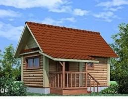 کلبه چوبی