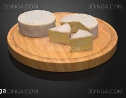 تخته برش + پنیر صبحانه