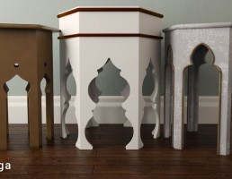 میز قهوه عربی