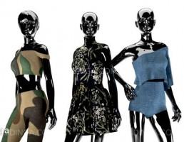 مانکن + لباس مجلسی