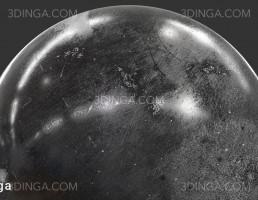 تکسچر فلز با رنگ سیاه پوشیده شده