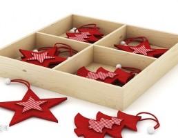 جعبه وسایل تزیینی کریسمس