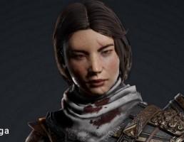 کاراکتر زن جنگجو