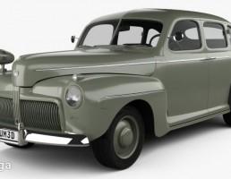 ماشین فورد V8 سال 1942