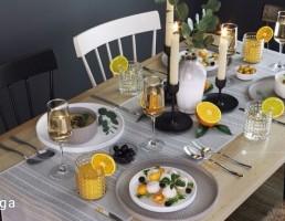 میز غذا + سرویس پذیرایی مدرن