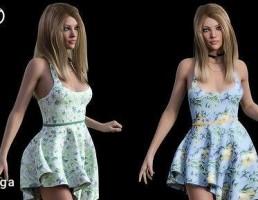 مانکن + لباس مجلسی زنانه