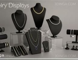 مانکن طلا فروشی + جواهرات