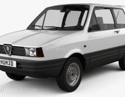 ماشین آلفا رومئو سال 1984