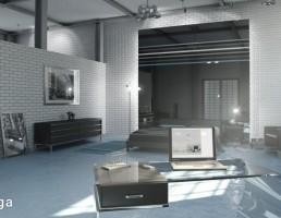 صحنه داخلی اتاق کار
