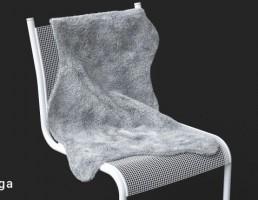 صندلی + خز