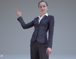کاراکتر زن کارمند