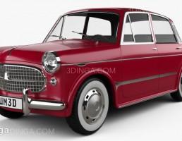 ماشین فیات 1200 مدل Granluce سال 1957