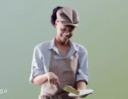 کاراکتر زن آشپز