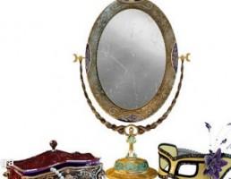 آینه + جعبه جواهرات + نقاب