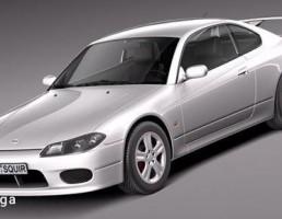 نیسان مدل 240 sx Silvia S15 سال  1999-2002