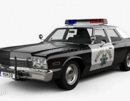 ماشین موناکو پلیس  سال 1974